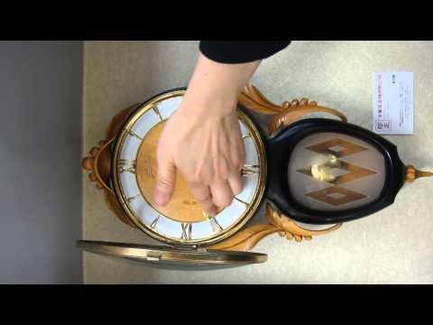 珍正古董收音機有限公司( ITEM 779 )1950年代德國及瑞典合製古董掛鐘