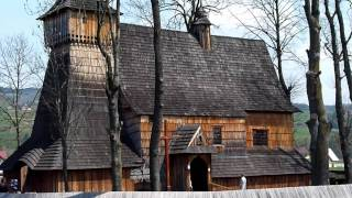 Mini Footage - Easter Sunday In The 600 Years Old Wood Church (debno, Poland)