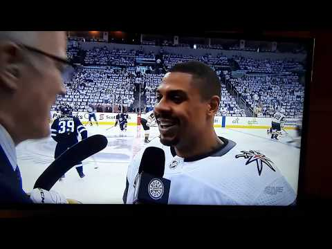 Ryan Reaves and Scott Oake interview