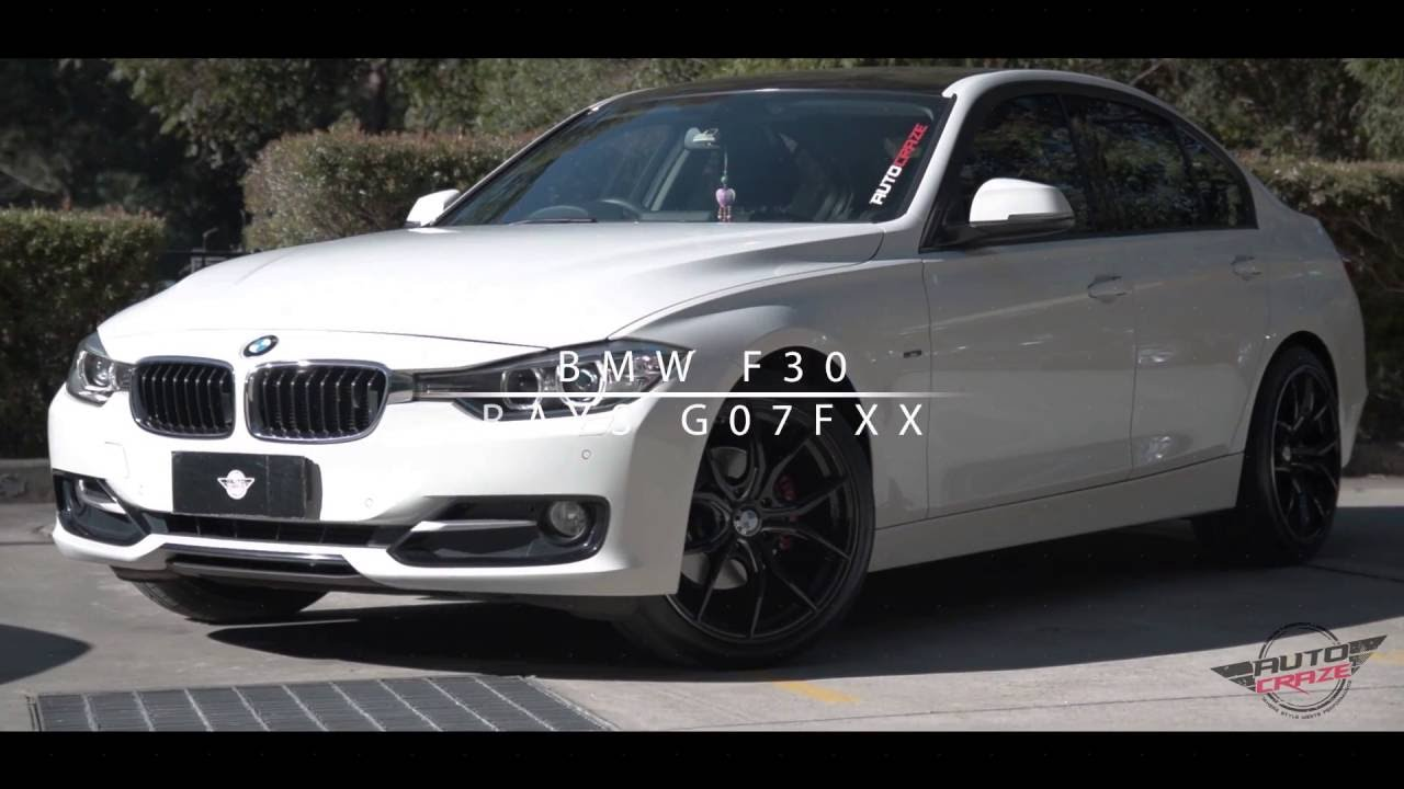 Bmw F30 Wheels Rays G07fxx Rims Autocraze Youtube