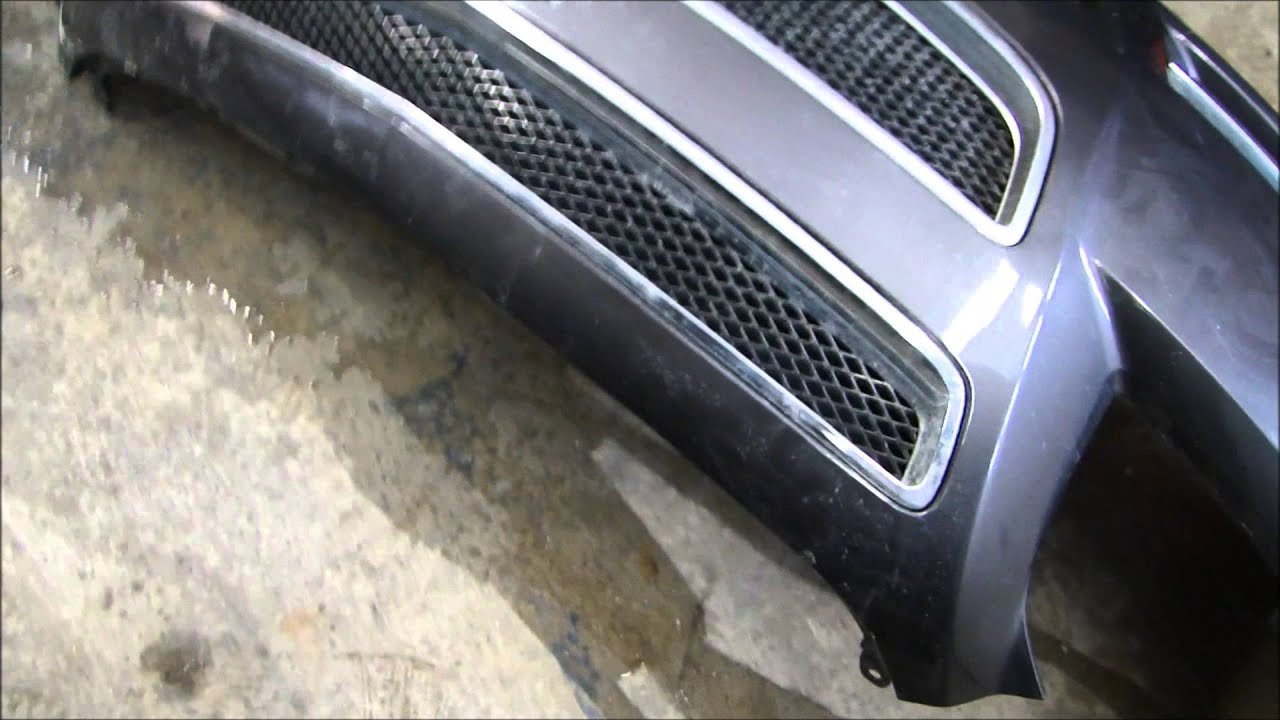 Changing a Plastic Bumper Cover - YouTube on