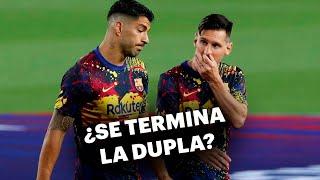 ¿Ronald Koeman deja a Lio Messi sin Luis Suárez en el Barcelona? 🤔👎