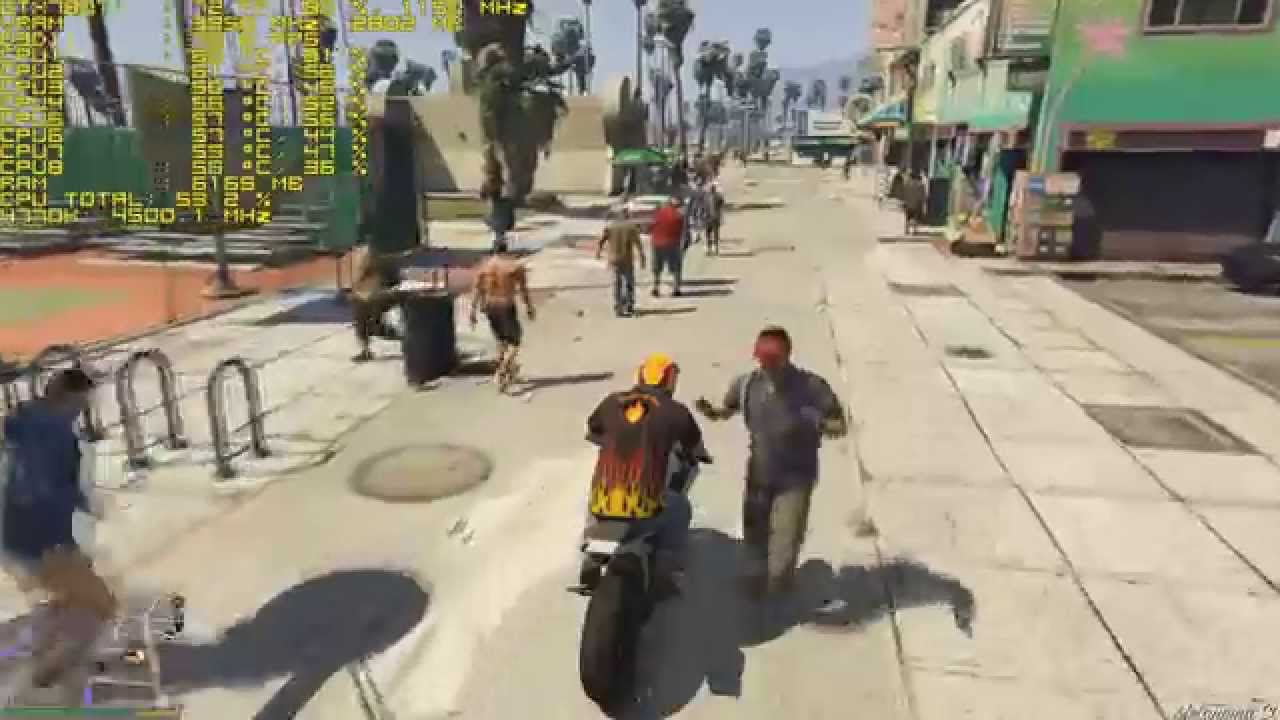 GTA 5 PC / Pedestrian,Vehicle Density & Variety Above The Max Settings