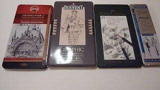 Drawing Materials Part 1, Art Supplies, Graphite Pencils, Mechanical pencils.