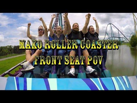 SeaWorld Orlando Mako Construction Update 6.9.16 We Ride Mako w/ POV!!!