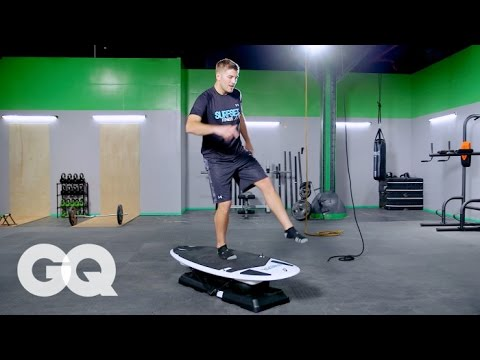 SURFSET: Balance Techniques with Mike Hartwick–GQ's Fighting Weight Series