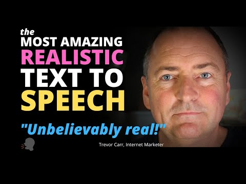 The Best Text To Speech Software I've Ever Heard - Real Human Voice