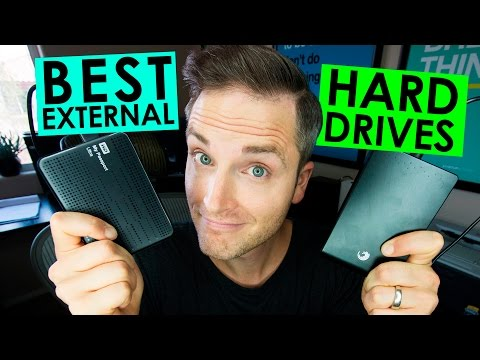 Best External Hard Drives and Storage for Video Editing