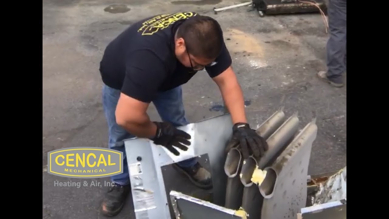 Cencal Mechanical Recycling Old Hvac Units