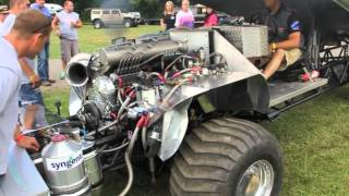2000hp Cummins Diesel Warm Up