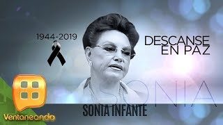 ¡Muere Sonia Infante a causa de una rara enfermedad en la columna vertebral!