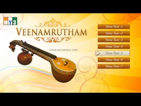 Veenamrutham Instrumental Album - Veena Songs - Relaxing Music