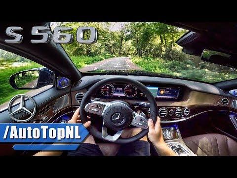 2018 Mercedes Benz S Class S560 POV TEST DRIVE w/ AUTOPILOT by AutoTopNL