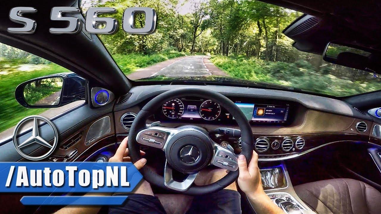 2018 mercedes benz s class s560 pov test drive w for Mercedes benz autopilot