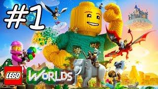 LEGO WORLDS en Español - Videos de Juegos de Legos - Parte 1 Inicio