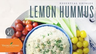 Essential Edibles: Lemon Hummus | Young Living Essential Oils