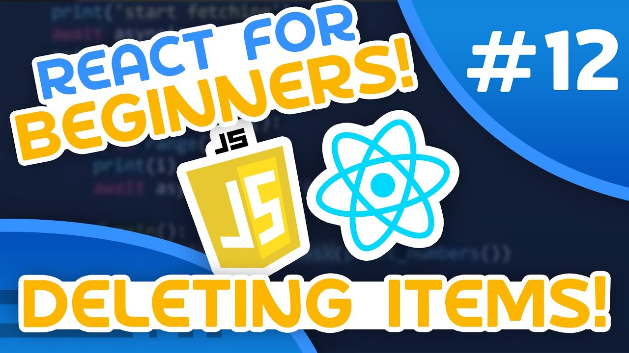 React for Beginners #12 - Deleting Items
