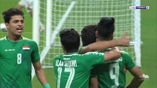 خليجي 24 - العراق 2 الإمارات 0