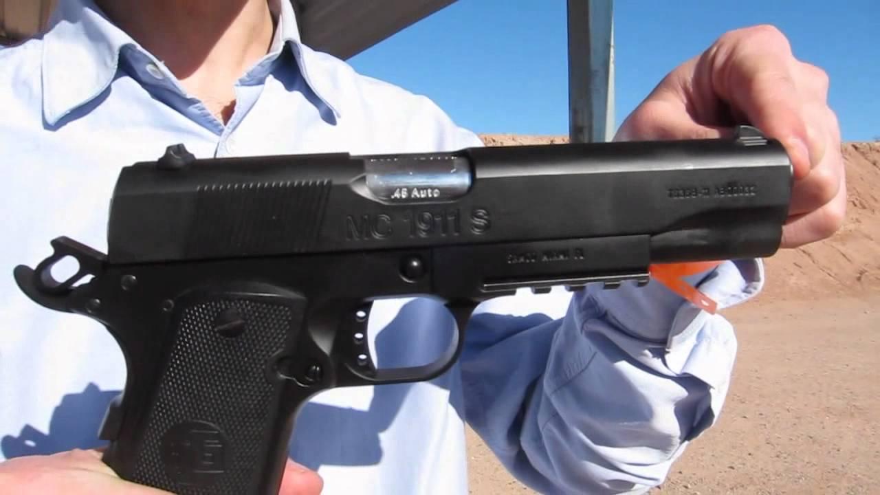 Turkish 1911 - GIRSAN Yavuz MC 1911 S  45 Auto Pistol
