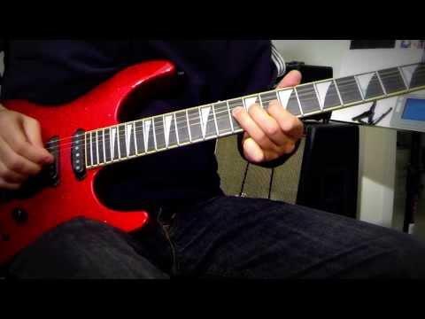 Marillion -  Easter Solo, Guitar Cover Tutorial