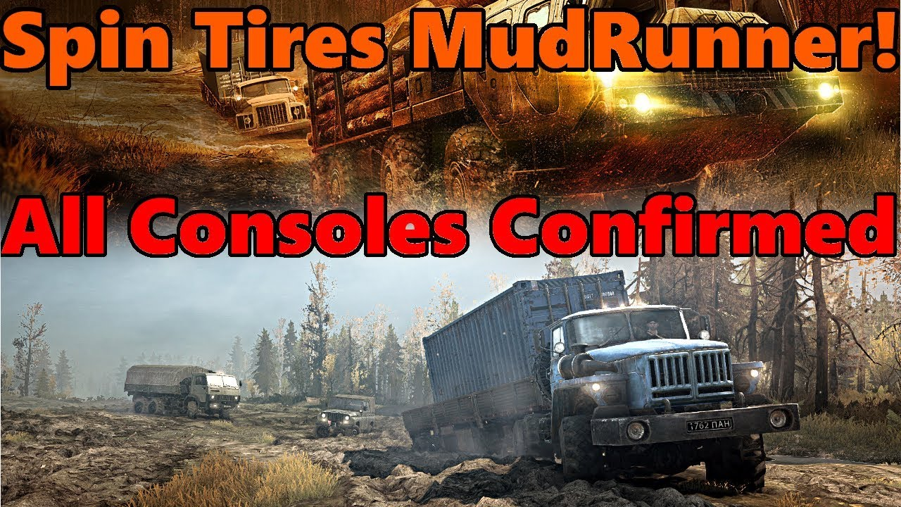 spin tires mudrunner xbox one ps4 and pc confirmed. Black Bedroom Furniture Sets. Home Design Ideas