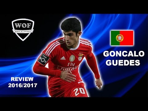 GONCALO GUEDES | Benfica | Goals, Skills, Assists | 2016/2017  (HD)
