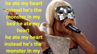 Lady gaga-monster (lyrics) the fame ...