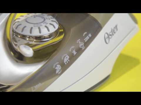 157310374 Como usar o Ferro Ultra Care Oster. Oster Brasil