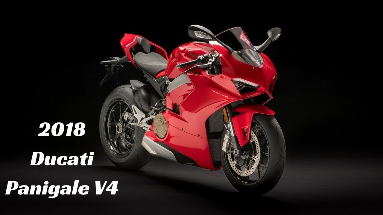 2018 Ducati Panigale V4 - World's most powerful superbike (and ...