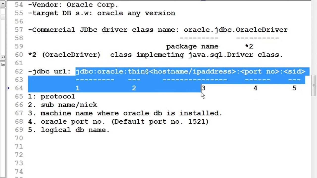 18 Advanced java tutorial |JDBC |Service Id | Type 4