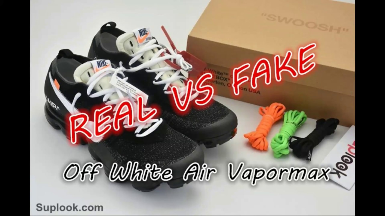 ee81428d9a364 REAL VS FAKE Off White Air Vapormax Review by Suplook.com - YouTube