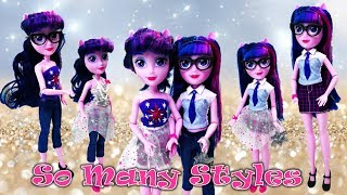 MLP Fashion show with Deluxe Twilight Sparkle So Many Styles Doll