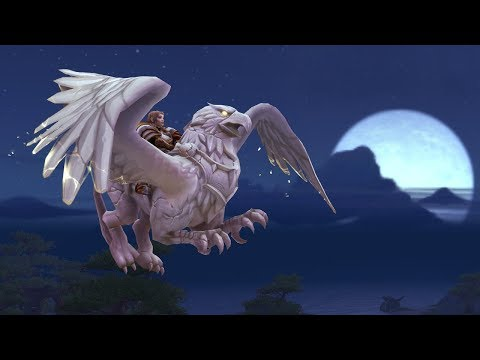 Новые алебастровые средства передвижения на 15-летие World of Warcraft!