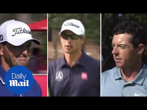 Australia Open day two highlights as Greg Chalmers leads - Daily Mail