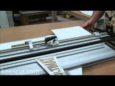 Foster Keencut Ultimat Gold Mat Cutter Basic Mat Cutting Demo