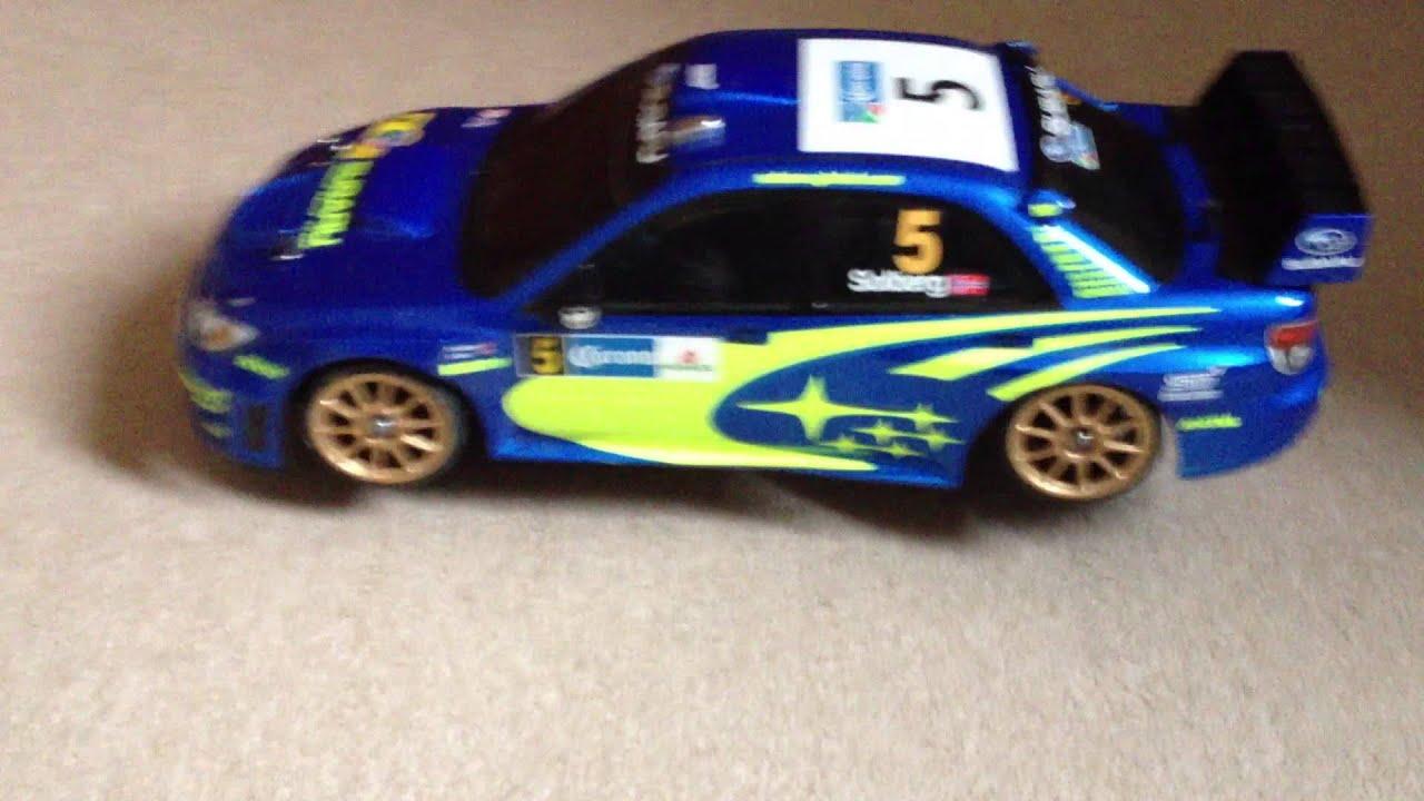 Subaru Impreza Rc Model Car Youtube