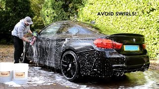 **How to Avoid Paint Swirls - Safe Car Wash Tips**