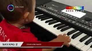 SAYANG 2 karaoke korg pa600(lirik)