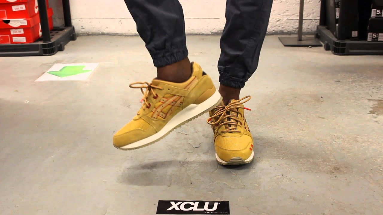 asics gel lyte 3 honey mustard