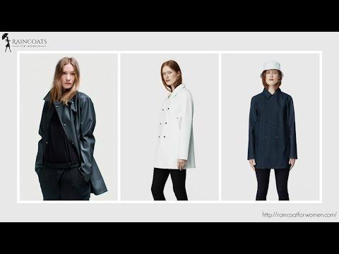 NEW Waterproof Pea Coats For Women: Stutterheim Skeppsbron