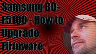 Samsung BD F5100 how to upgrade the firmware screenshot 5