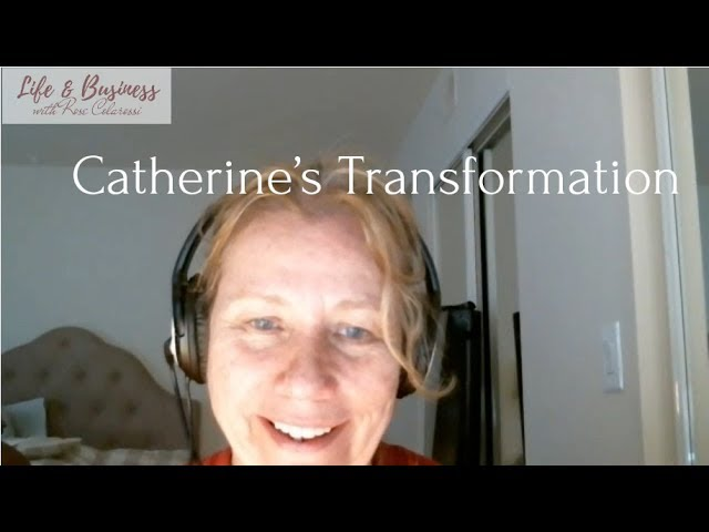 Catherine Unlocks and Frees a 20 Year Old Memory Holding Her Back with Rose Colarossi