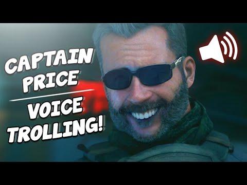 "CAPTAIN PRICE Voice TROLLING on MODERN WARFARE!! ""Bravo Six, Going Dark"""