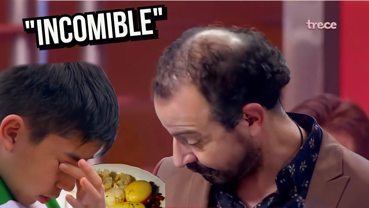 Peores Platillos De Master Chef Junior