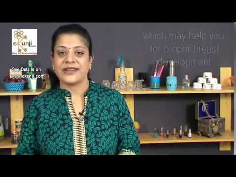 How to Increase Breast Size - Beauty Tips by Sonia Goyal For Breast Enlargement @ ekunji.com