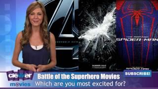 Battle of the 2012 Superhero Movies: The Avengers vs. Batman vs. Spider-Man
