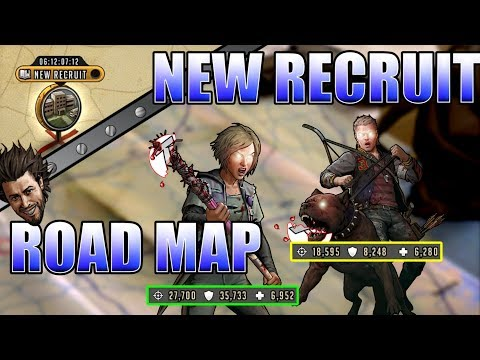Davie New Recruit Road Map! - Tips & What I did To Win! - The Walking Dead Road To Survival
