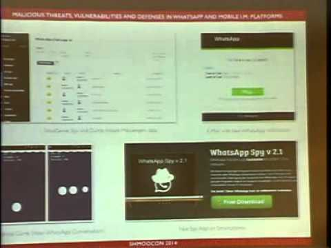 ShmooCon2014   Malicious Threats   Mobile Instant Messaging Platforms