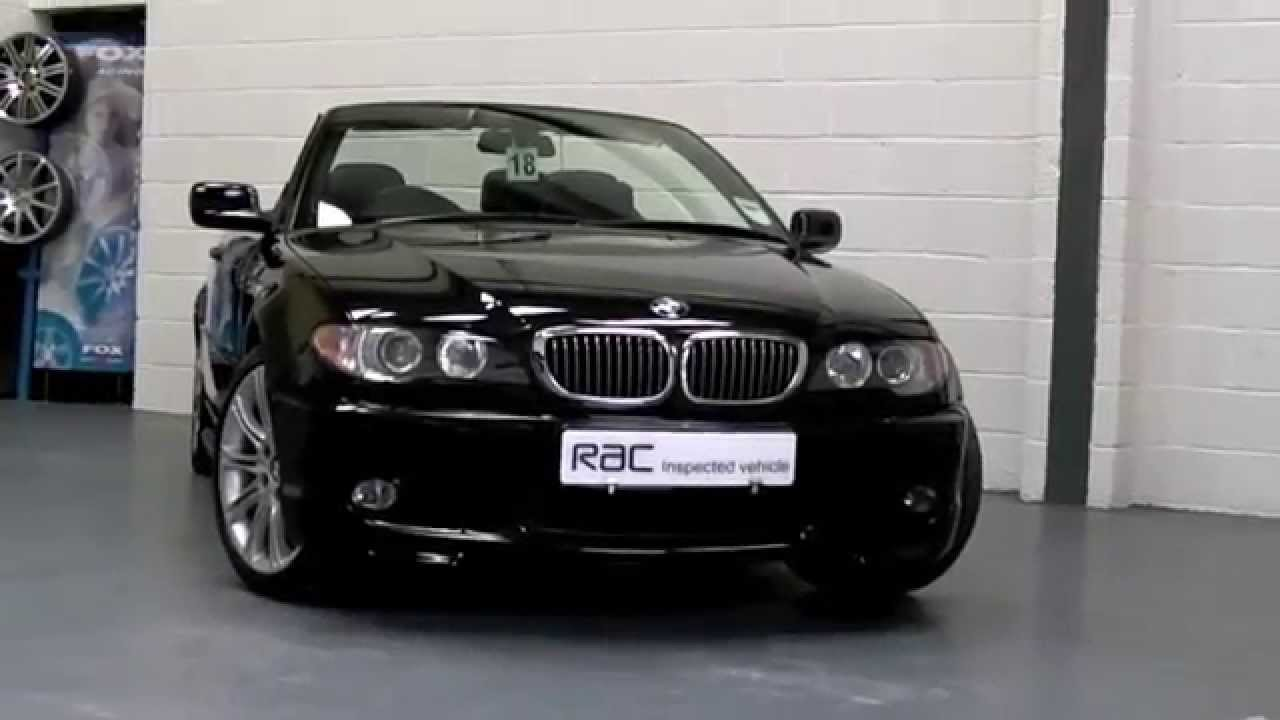 Sport Cars For Sale >> BMW 320Ci 2.2 M SPORT CABRIOLET OFFERED FOR SALE AT PERFORMANCE DIRECT BRISTOL - YouTube