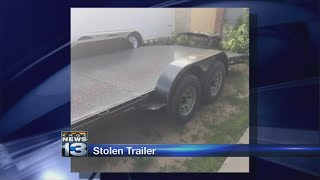 Albuquerque man on the lookout for stolen trailer